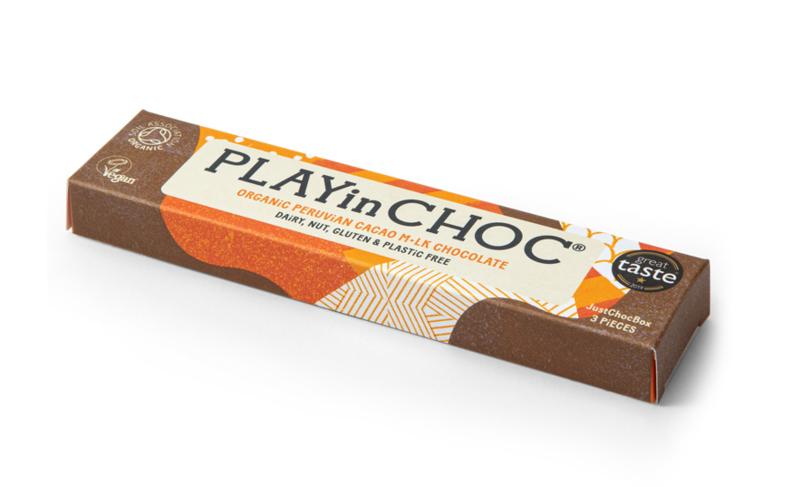 Chocolade m*lk - vegan & zero plastic - PlayinChoc