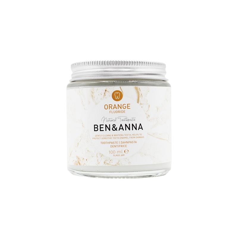 Tandpasta Orange mét fluoride 100 ml - Ben & Anna