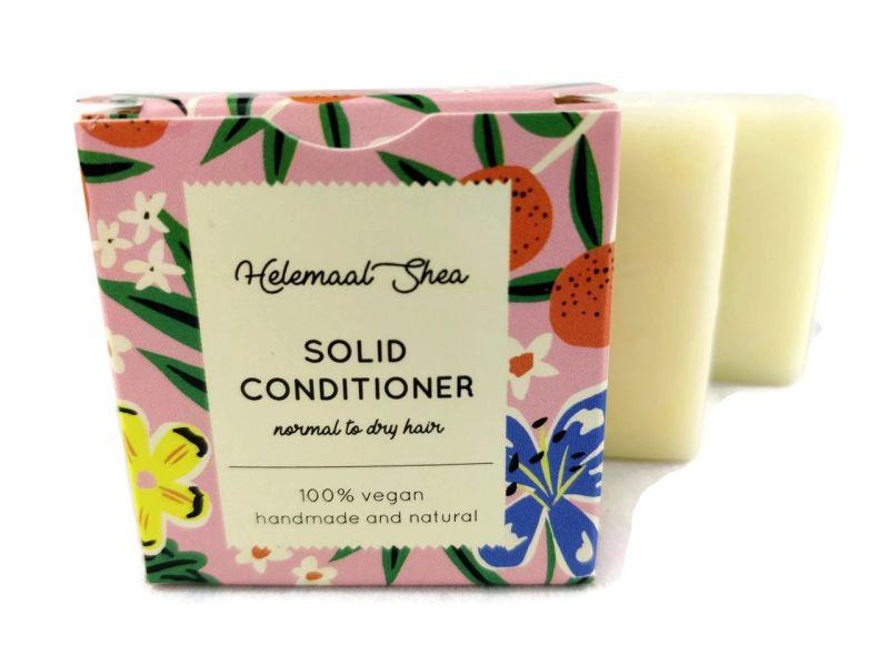 Solid conditioner (normaal tot droog haar) 50 gram - HelemaalShea