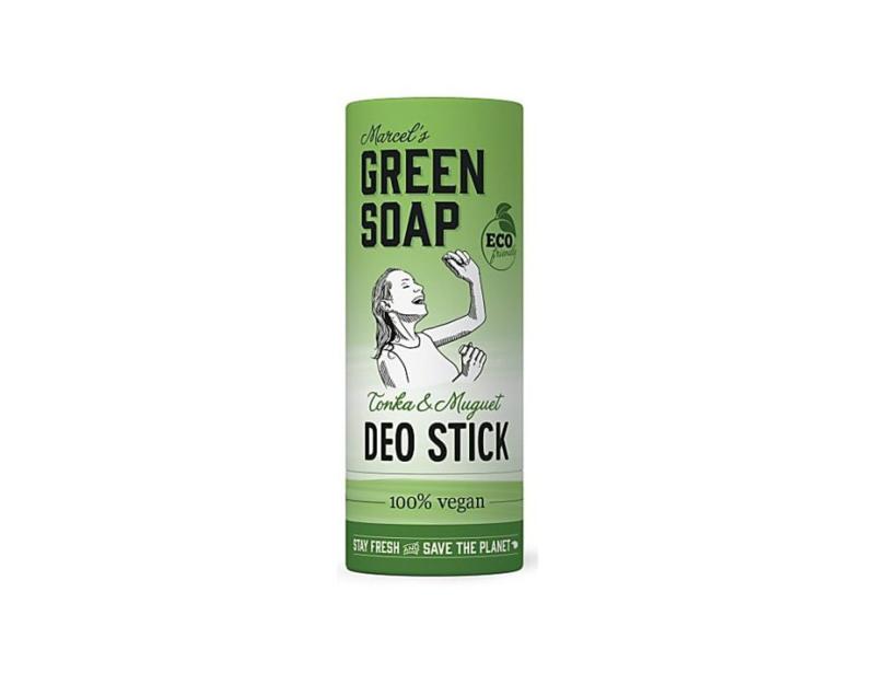 Deodorant Stick - Tonga & Muguet 40 gram - Marcels Green Soap