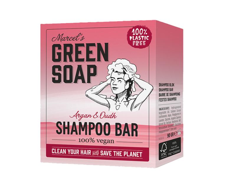Shampoo bar - Argan & Oudh - Marcels Green Soap
