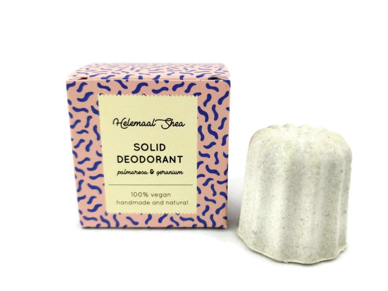 Vaste deodorant Palmarosa & Geranium 23 gram - HelemaalShea