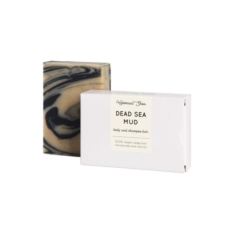 Dode Zee modder Zeep, voor huid & haar (alle haartypen) 100 gram - HelemaalShea