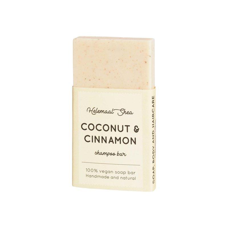 Shampoo bar - mini - Kokos & kaneel - HelemaalShea