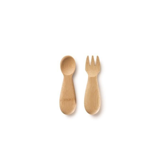 Baby's Fork & Spoon  van Bambu ( vanaf 12 maanden)