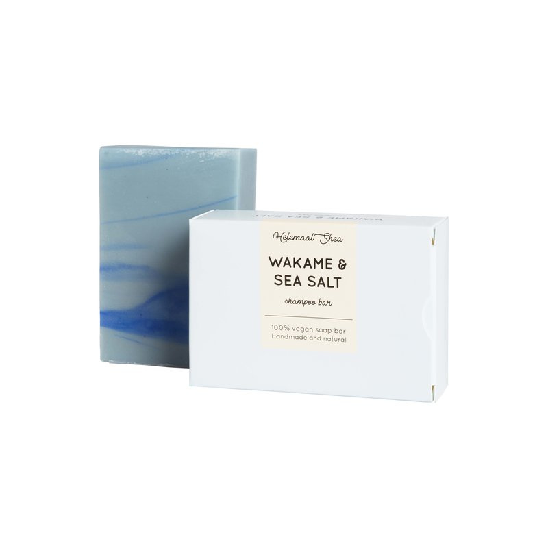 Shampoo bar - Wakame & Zeezout - HelemaalShea