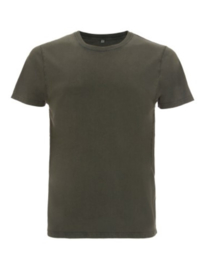 Shirt regular fit groen stonewash