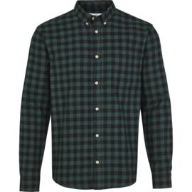Overhemd check Wood