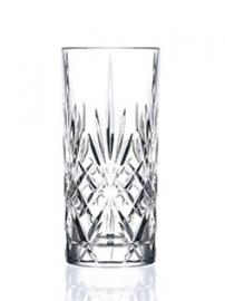 Longdrinkglas kristal