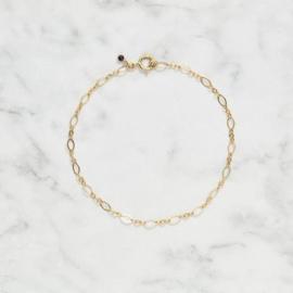 Armband goud coral