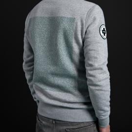 Sweater '20 Years of OT301' grijs - navy