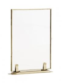 Staand floating frame goud groot