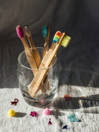 Bamboe tandenborstel kids