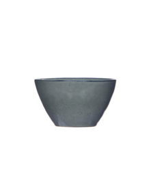 Hoge bowl grijs
