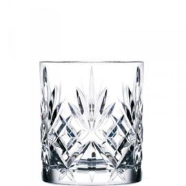 Kristallen whiskyglas