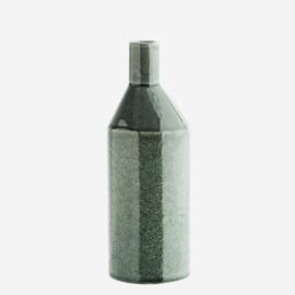 Vaasje keramiek grijs-groen