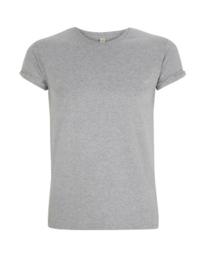 Shirt rolled sleeve - grijs
