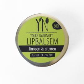 Bio lipbalm - citroen limoen