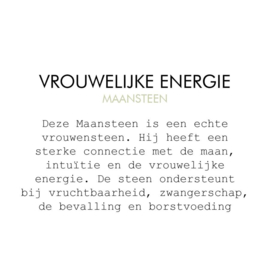 Maansteen - Vrouwelijke Energie