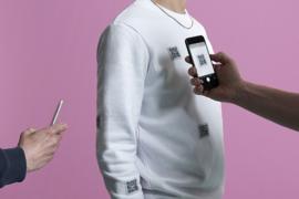 Bleeps, Beats & Bass Limited Edition QR Sweater -wit