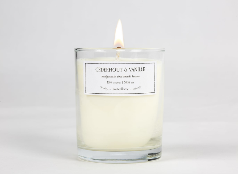 Geurkaars - Cederhout & Vanilla