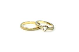 Ring met vintage diamant