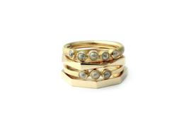 ruwe diamant ring