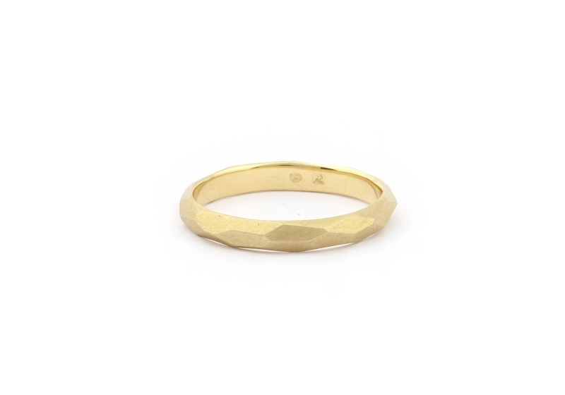 vlakjes ring