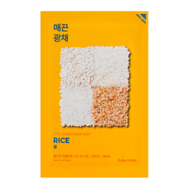 Pure Essence Mask Sheet - Rice