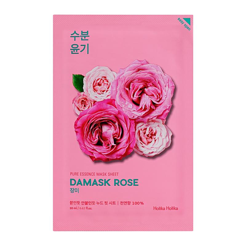 Pure Essence Mask Sheet - Damask Rose