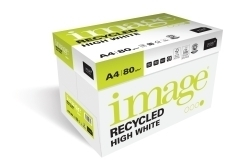 Image recycled High White A4 80 grams ( 200 pakken à 500 vellen)