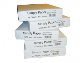 White Label Papier - A4 pallet ( 200 pakken à  500 vel)