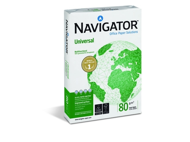 Navigator Universal A3, 80 grams pallet ( 100 pakken à 500 vellen)