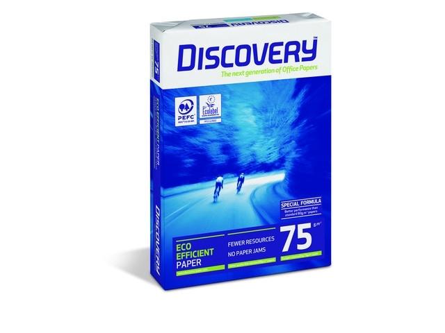 Discovery papier / 75 grams pallet ( 200 pakken à 500 vellen)