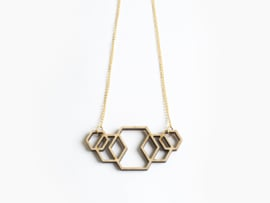 Ketting Hexagon