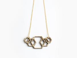 Ketting Hexagon