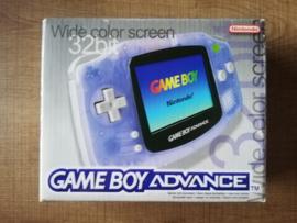 Gameboy Advance Console Glacier - CIB