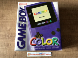 Gameboy Color Purple Boxed