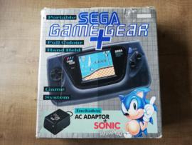 Game Gear Console CIB + Sonic + Lader - Nieuwe Condensatoren - Nieuwe Glazen Lens