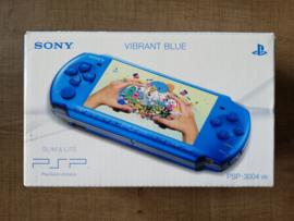 PSP-3004 Slim & Lite Vibrant Blue + Memory Card 2GB + acc
