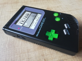 Gameboy DMG - Funnyplaying IPS screen - Repro Shell - CleanJuice XL USB C Batterij