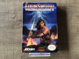 Iron Sword: Wizards & Warriors II - USA - CIB