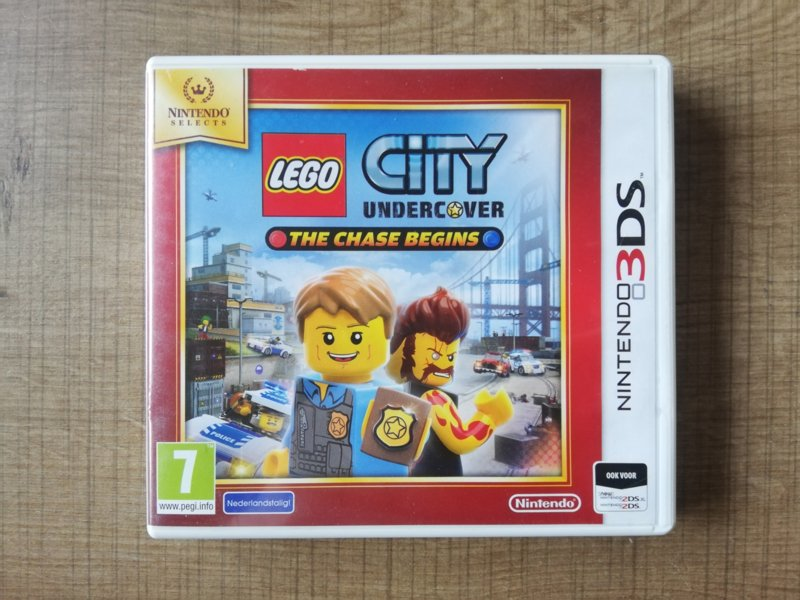 LEGO City Undercover - The Chase Begins Nintendo Selects - HOL