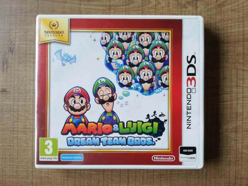Mario & Luigi Dream Team Bros. - Nintendo Selects - HOL