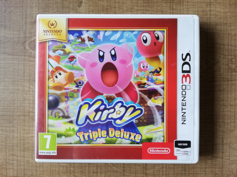 Kirby: Triple Deluxe - Nintendo Selects - HOL