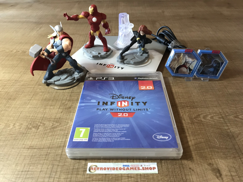 Disney Infinity 2.0: Marvel Super Heroes Starter Pack - PS3