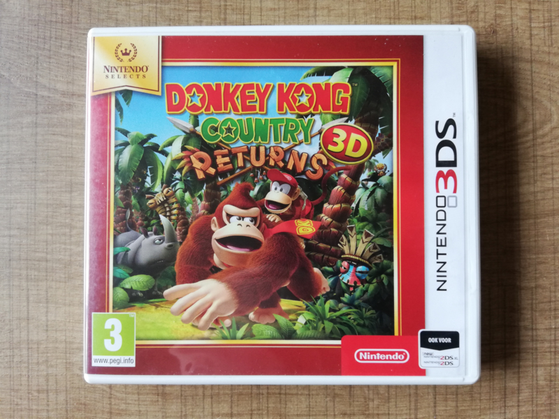 Donkey Kong Country Returns 3D - Nintendo Selects - HOL
