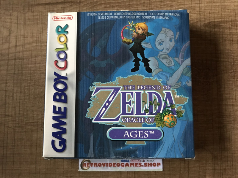 The Legend of Zelda - Oracle of Ages - NEU - CIB