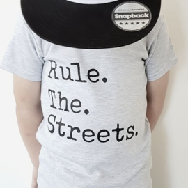 Basic Tee Rule the streets