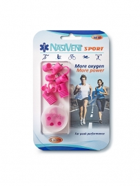 Nasivent Sports Starter Set. 5 sizes Roze
